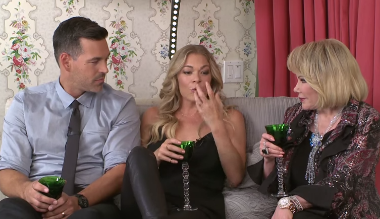 "VIDEO: Leann Rimes and Eddie Cibrian Were Joan Rivers Last Guest on, ""In Bed With Joan"""